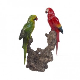 Tropical Parrot  Sculpture