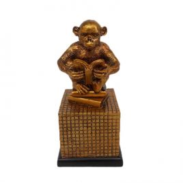 Sitting Monkey Decorative Ornament