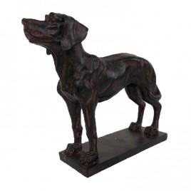 Dog Ornament in Dark
