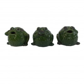 Green Frog set 3 pcs