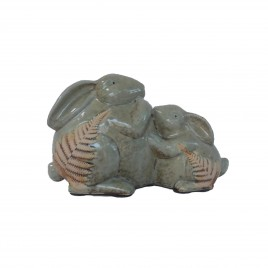 Twin Rabbit Ceramic