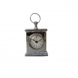 Hampton Nickel Desk Clock