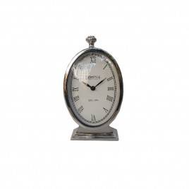 Chelsea Nickel Desk Clock