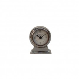 London Nickel Desk Clock
