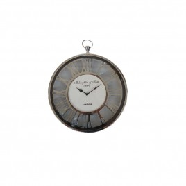 Durick Nickel Wall Clock