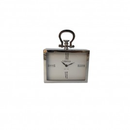 Eton Square Nickel Clock