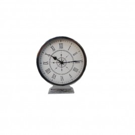 Silver Flight Nickel Desk Clock