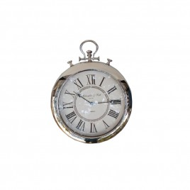 Hors D'Oeuvres Wall Clock (White)