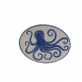 Octopus Ceramic Center Plate