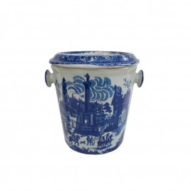 Chinese Blue & White Porcelain Planter