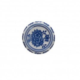 Chinese Blue & White Porcelain Base (S)