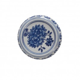 Chinese Blue & White Porcelain Base (M)