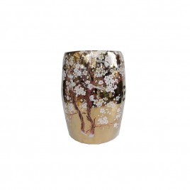 Sakura Blossom Oriental Ceramic Stool