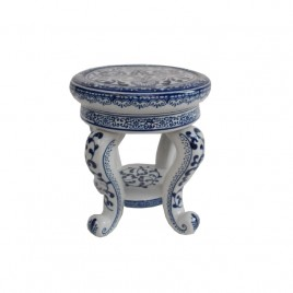 Blue & White Ceramic Stand