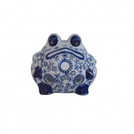 Blue & White Porcelain Frog