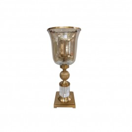 Gold Candle Holder (L)