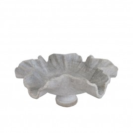 Flower Leaf Shape Marble Bowl