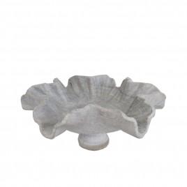 Flower Leaf Shape Marble Bowl
