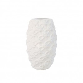 White Decorative Vase (L)