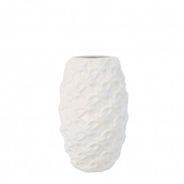 White Decorative Vase (M)