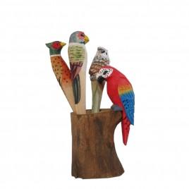 Safari Balsa Wooden Pen w/cup