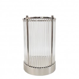 Decorative Candel Holder Silver (M)