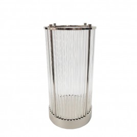 Decorative Candel Holder Silver (L)