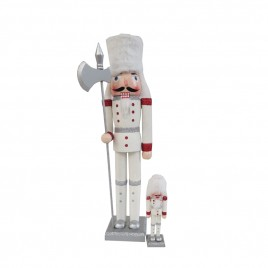Nutcracker Soldier Doll (White)