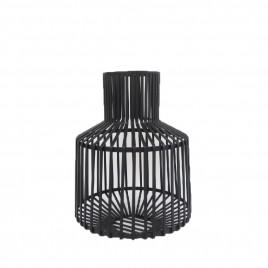 Black Metal Vase