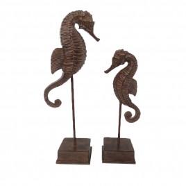 Decorative Seahorse on Stand (2 pcs/set)