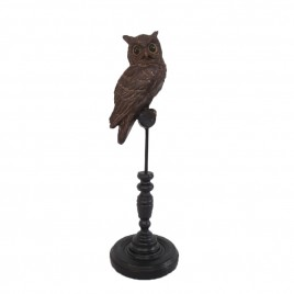 Night Owl with Wooden Stand
