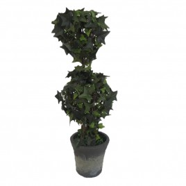 Ivy Double Ball Topiary Potted Tree