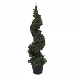 Spiral English Ivy Topiary Potted Tree (S)