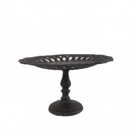 Cast Iron Footed Cake Plate