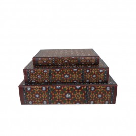 Decorative Antique Paper Book (3pcs/ set)
