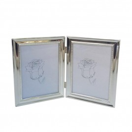 Double Sided Silver Plated Frame