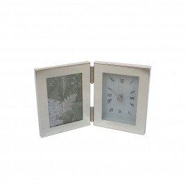 Frame with alarm clock