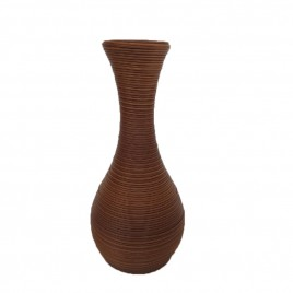 Outdoor rattan Vase (Brown)