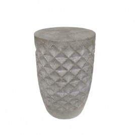 Grey Stone Ceramic Stool