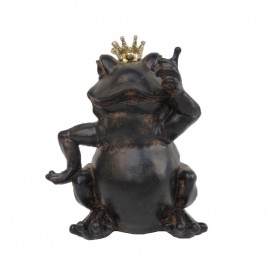 Frog w/ Golden Crown