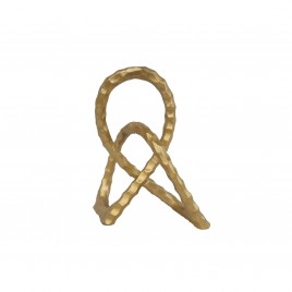 Gold Cross Aluminium Ring (Small)
