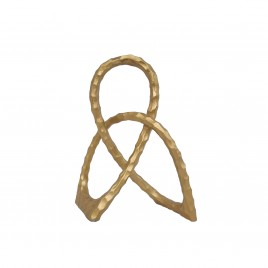 Gold Cross Aluminium Ring (Large)