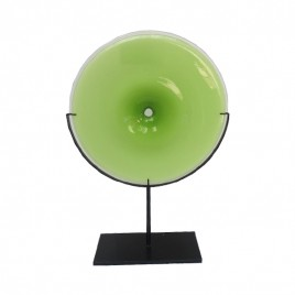 Glass Accent with Stand (Green)