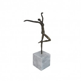 Ballet Dancer with Marble Stand