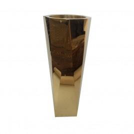 Metal Planter in Gold (Large)