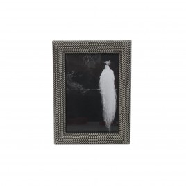 Braided Antique Silver Frame (Large)