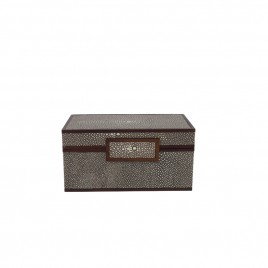 Faux Shagreen Jewellry Box (S)