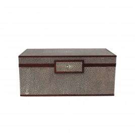 Faux Shagreen Jewellry Box (L)