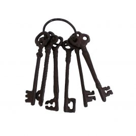Antique Broze Skeleton Key Set