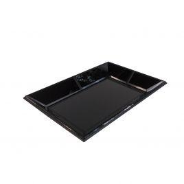 Rectangular Black Mirror Tray (small)